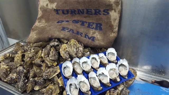 Feast on tasty fresh fish and Pacific Oysters during the winter season